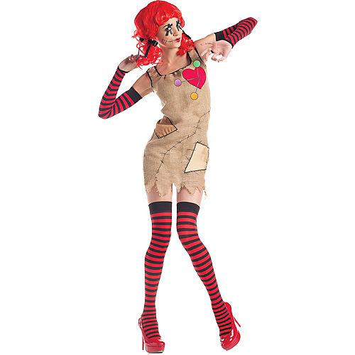 Adult Voodoo Doll Costume Image #1