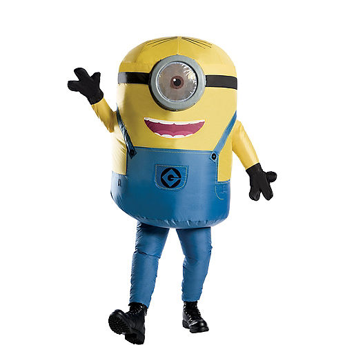Adult Inflatable Stuart Costume - Despicable Me 3 Image #1