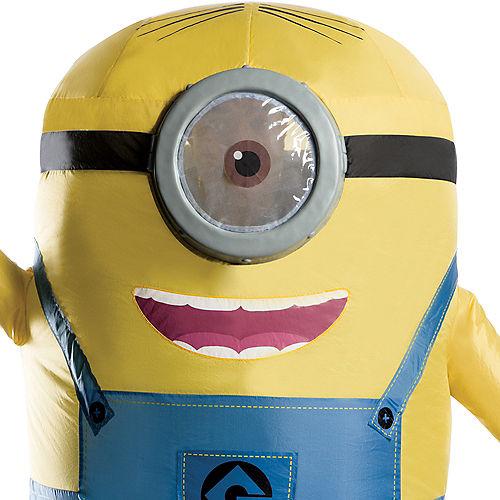 Adult Inflatable Stuart Costume - Despicable Me 3 Image #2