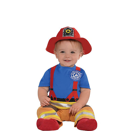 Baby First Fireman Costume Image #1