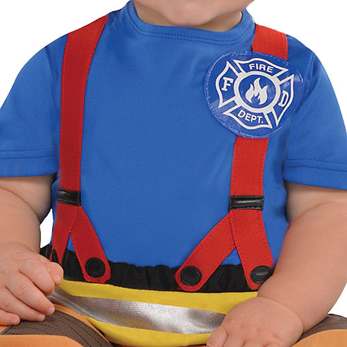 Baby First Fireman Costume Image #3