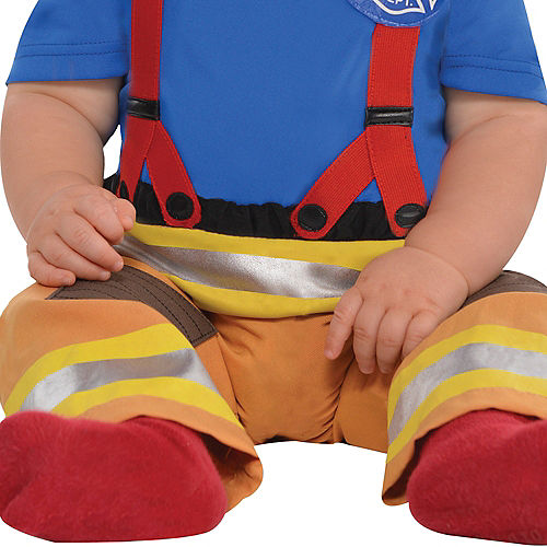 Baby First Fireman Costume Image #4