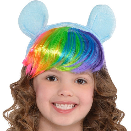 Toddler Girls Rainbow Dash Costume - My Little Pony Image #2