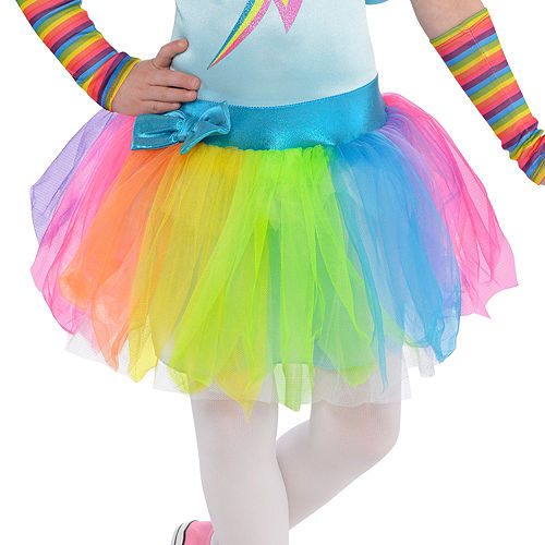 Toddler Girls Rainbow Dash Costume - My Little Pony Image #4