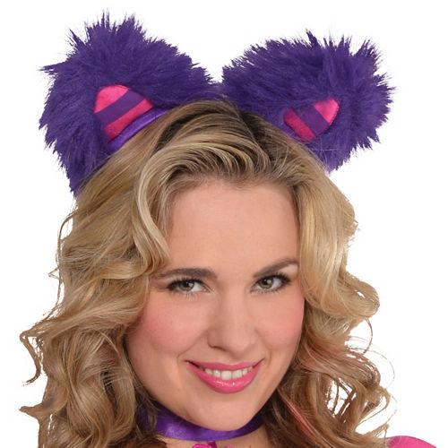 Adult Lady Cheshire Kitty Cat Costume Plus Size Image #2