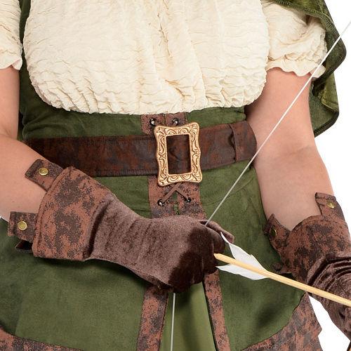 Adult Lady Robin Hood Costume Plus Size Image #3
