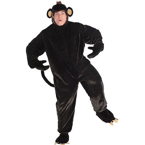 Adult Monkey Business Costume Plus Size Image #1