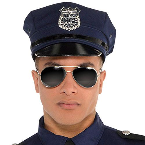 Adult Under Arrest Cop Costume Image #2