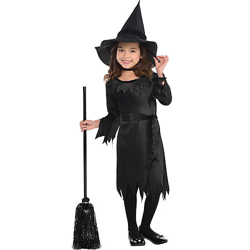 Toddler Girls Lil Witch Costume Image #1