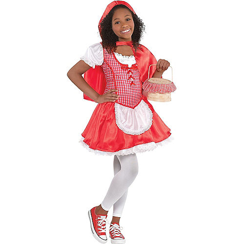 Toddler Girls Classic Red Riding Hood Costume Image #1