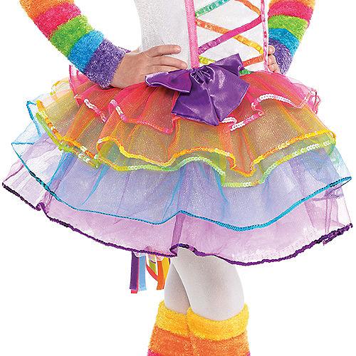 Toddler Girls Rainbow Unicorn Costume Image #4