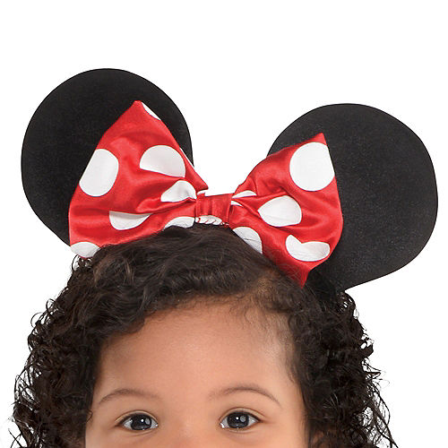 Baby Red Minnie Mouse Costume Image #2