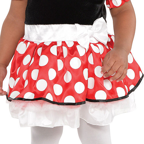 Baby Red Minnie Mouse Costume Image #4