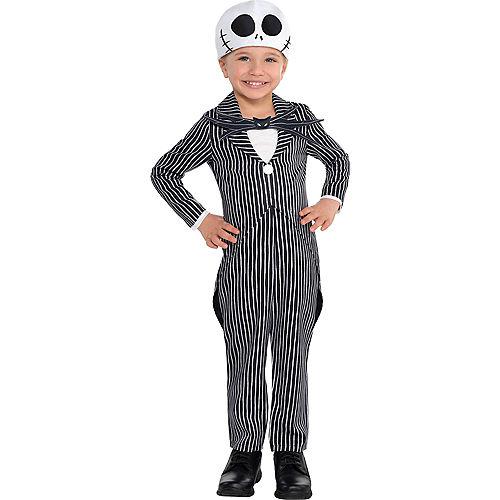 Toddler Boys Jack Skellington Costume - The Nightmare Before Christmas Image #1