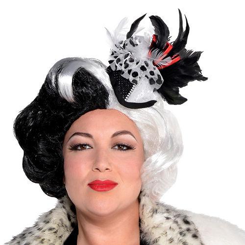 Adult Cruella De Vil Costume Couture Plus Size - 101 Dalmatians Image #2