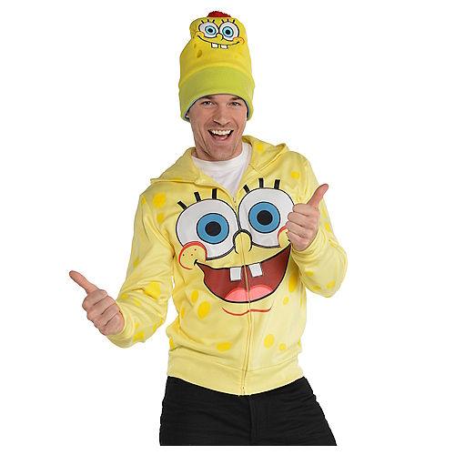 SpongeBob Zip-Up Hoodie - SpongeBob SquarePants Image #1