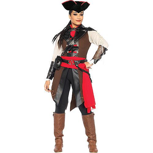 Adult Aveline Pirate Costume - Assassin's Creed III Image #1