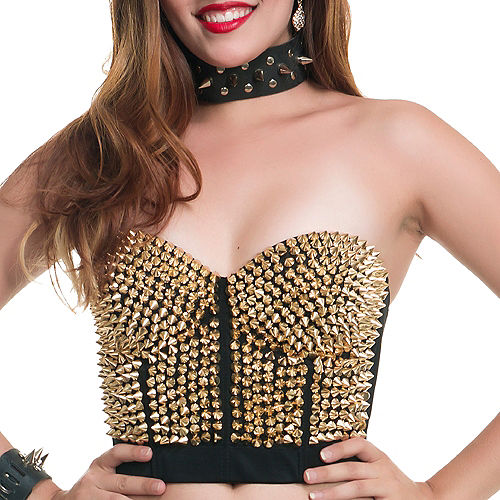 Gold Spiked Bustier Image #2