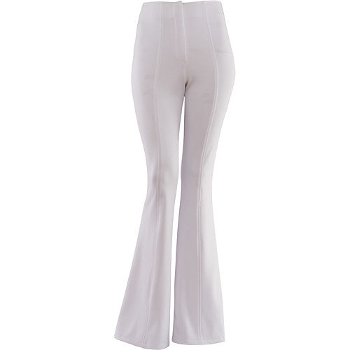 White 70s Disco Pants Image #1