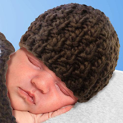 Baby Crochet Cocoon Football Costume Image #2