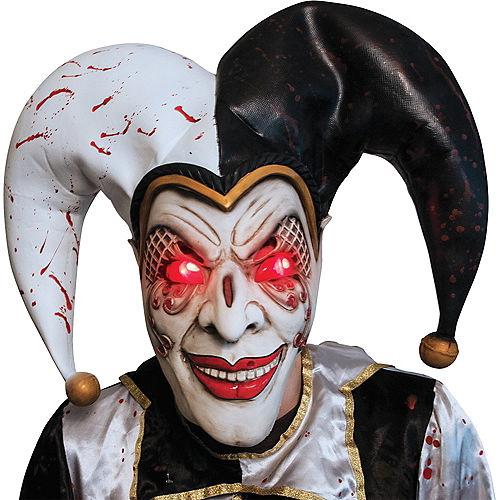 Adult Light-Up Evil Harlequin Jester Costume Image #2