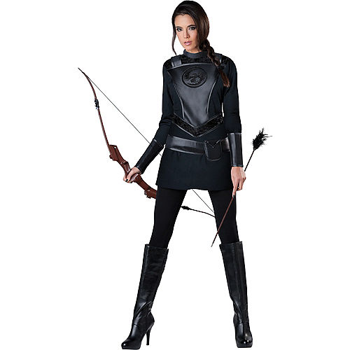 Adult Warrior Huntress Costume Image #1