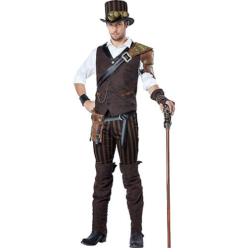 Adult Adventurer Steampunk Costume Image #1