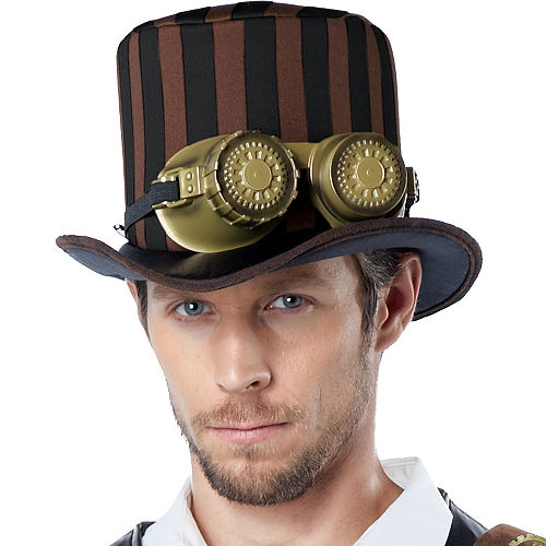 Adult Adventurer Steampunk Costume Image #2