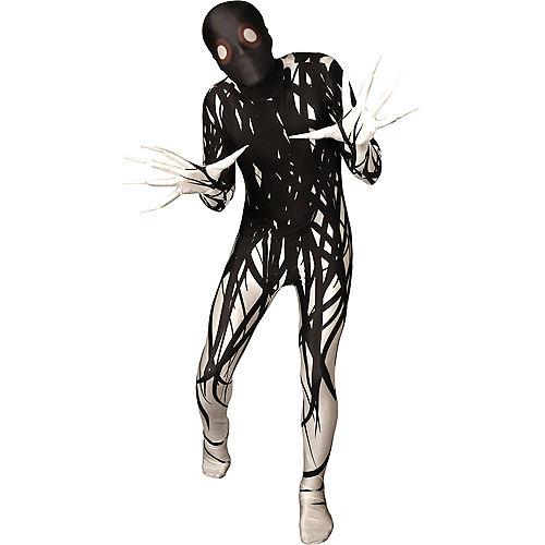 Boys Black & White Horror Zalgo Morphsuit Image #1