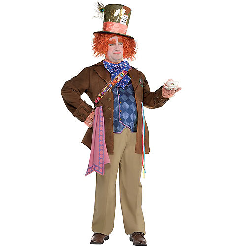Adult Mad Hatter Costume Plus Size - Alice Through the Looking Glass Image #1