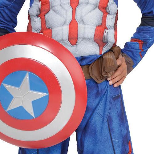 Boys Captain America Muscle Costume - Captain America: Civil War Image #3