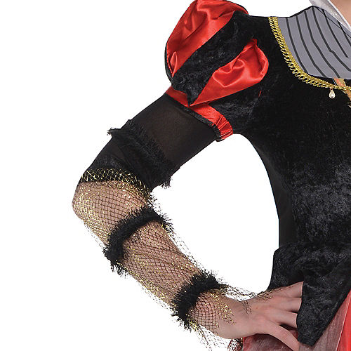 Adult Red Queen Costume - Alice Through the Looking Glass Image #2