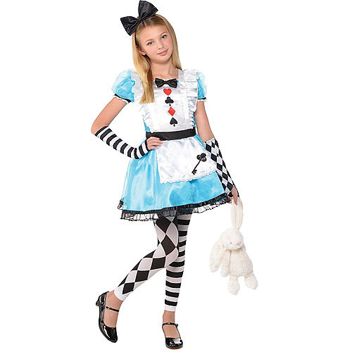 Girls Alice Costume Image #1