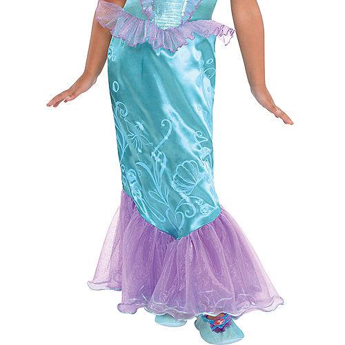 Girls Ariel Costume - The Little Mermaid Image #3