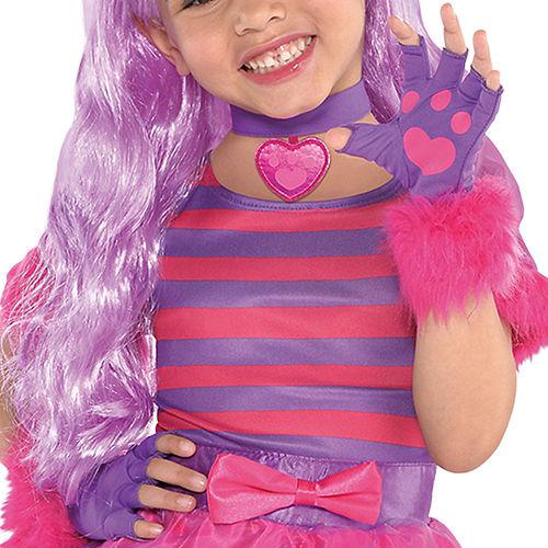 Toddler Girls Cheshire Cat Costume Image #3