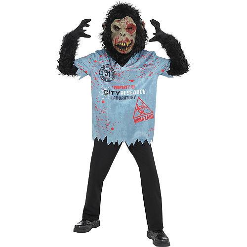 Boys Zombie Chimp Costume Image #1