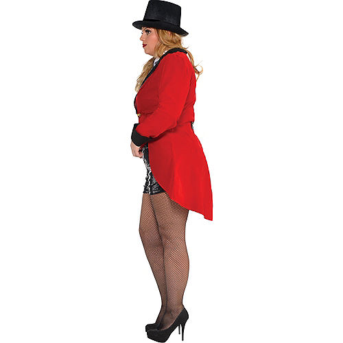Nav Item for Adult Circus Ringmaster Costume Plus Size Image #2