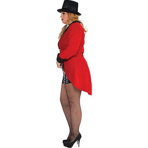 Adult Circus Ringmaster Costume Plus Size Image #2