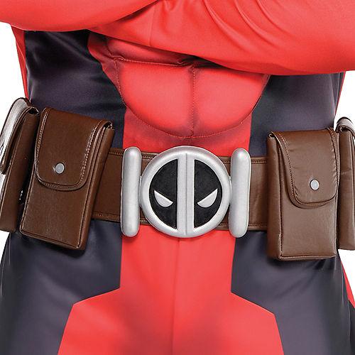 Adult Deadpool Muscle Costume Image #3