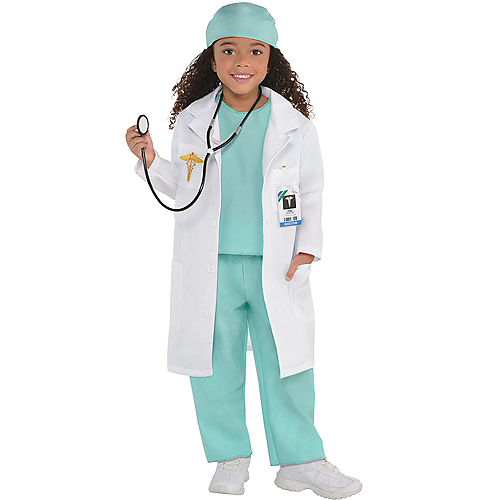 Girls Doctor Costume Image #1