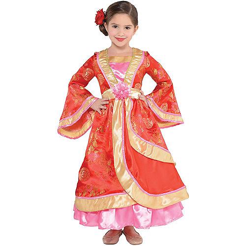 Girls Geisha Costume Image #1