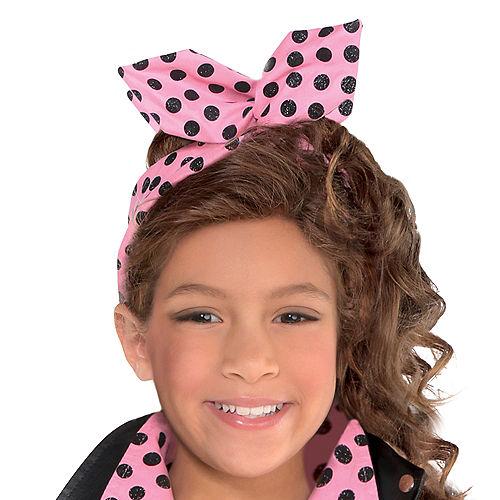 Girls Greaser Costume Image #2