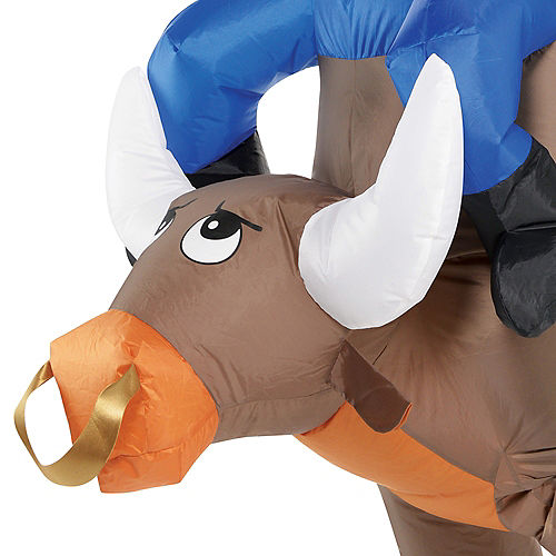 Adult Inflatable Bull Ride On Costume Image #2