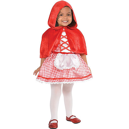 Baby Little Red Riding Hood Costume Image #1