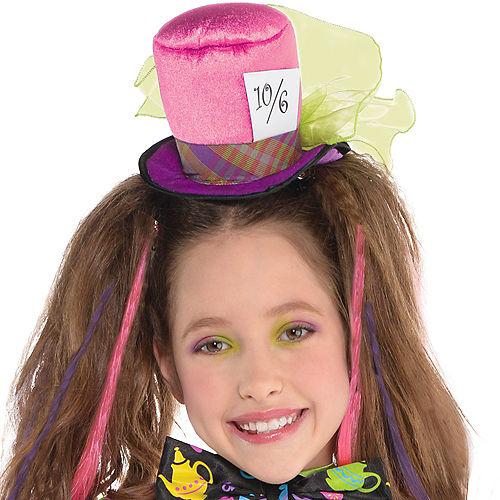 Girls Mad Hatter Costume Image #2