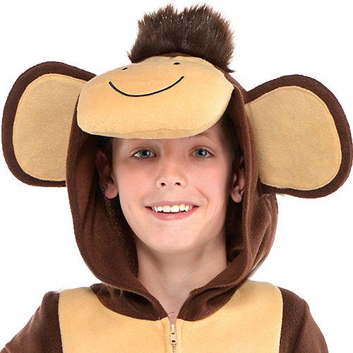 Child Zipster Monkey One Piece Costume Image #2