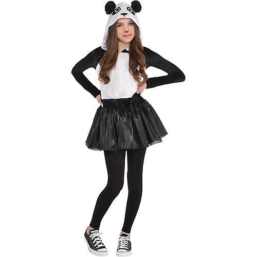 Girls Panda Costume Image #1