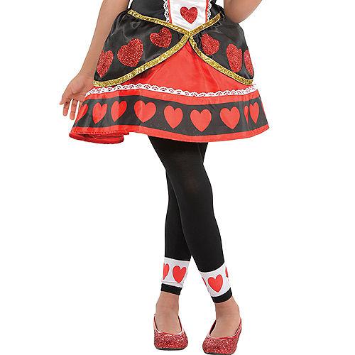 Girls Queen of Hearts Costume Image #4
