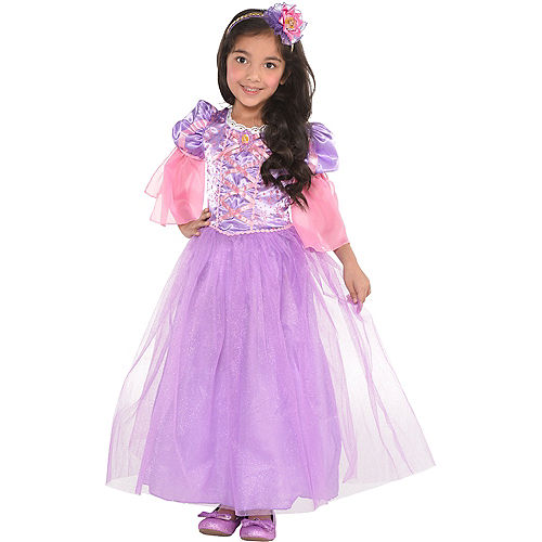 Girls Rapunzel Costume - Tangled Image #1