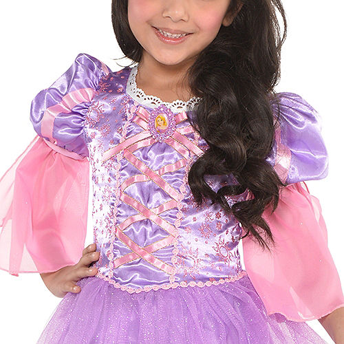 Girls Rapunzel Costume - Tangled Image #2